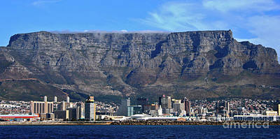 Photograph - Table Mountain by Jennifer Ludlum