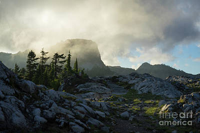 Photograph - Table Mountain Trail Cloudscape by Mike Reid