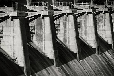 Photograph - Table Rock Dam by Bud Simpson