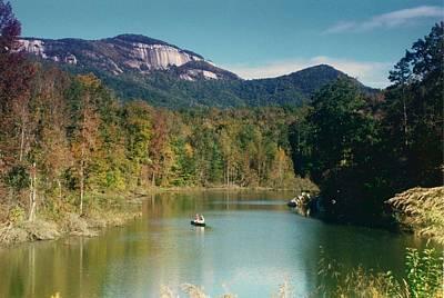 Photograph - Table Rock Lake In Autumn by Bryan Bustard