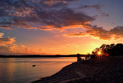 Photograph - Table Rock Sunset by Cricket Hackmann