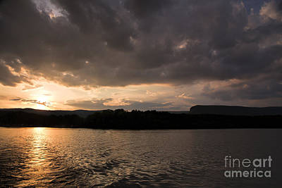 Table Rock Sunset Art Print