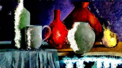 Painting - Table Setting  by Catherine Lott