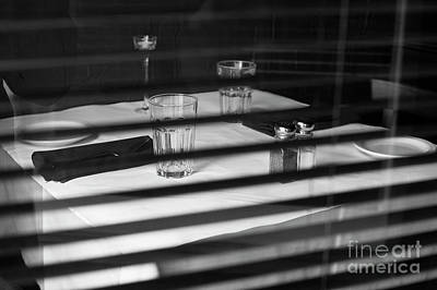 Photograph - Table Setting by Jim Corwin