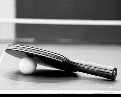 Ping Pong Wall Art - Photograph - Table Tennis Champ by Emily Kay