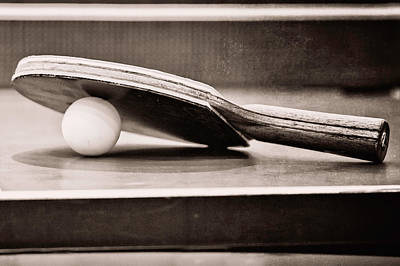 Ping Pong Wall Art - Photograph - Table Tennis by Emily Kay