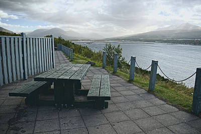 Photograph - Table With A View by Lucinda Walter