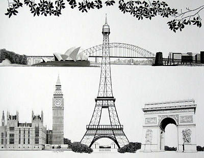 Tableau Of Landmarks Original