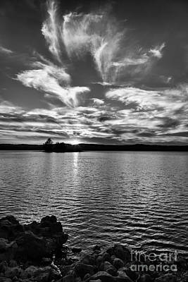 Photograph - Tablerock Lake 1 by Dennis Hedberg