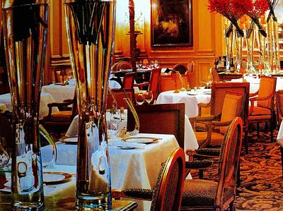 Staff Picks Cortney Herron - Tables are Ready Madame by Jacqueline Manos