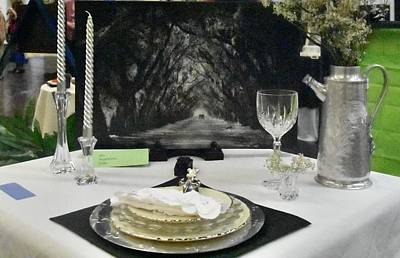 Photograph - Tablescape by Helen Haw