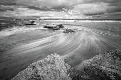 Photograph - Tabletop Reef - Infrared Bw by Alexander Kunz