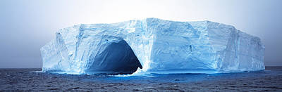 Portal Photograph - Tabular Iceberg Antarctica by Panoramic Images