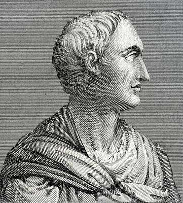 Tacitus, Roman Senator And Historian Art Print by Chris Hellier