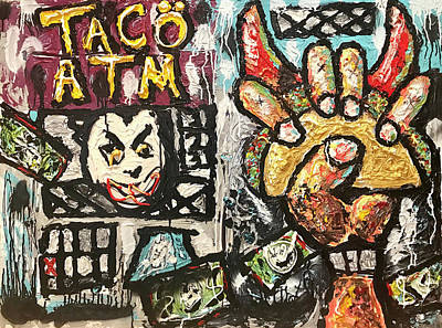 Painting - Taco Atm by Joe Bloch