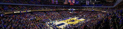 Taco Bell Arena And Boise State Basketball Art Print by Lost River Photography