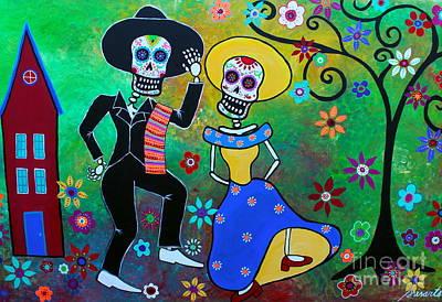 Painting - Taco Diablo Bailar by Pristine Cartera Turkus