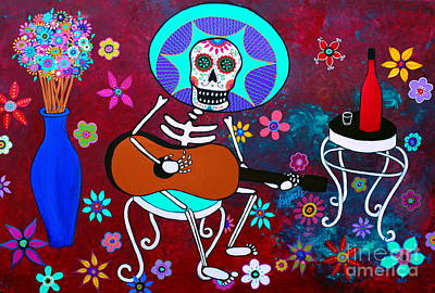 Painting - Taco Diablo Serenata by Pristine Cartera Turkus