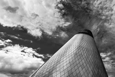 Of Glass Photograph - Tacoma Museum Of Glass by Thorsten Scheuermann