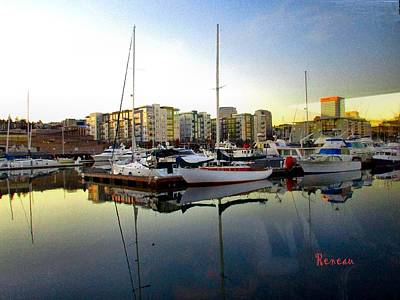 Photograph - Tacoma Washington City Marina by Sadie Reneau