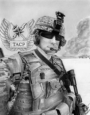 Tacp Print by Lyle Brown