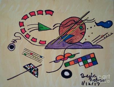 Tactics On The Passageway Art Print