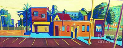 Painting - Taft Hill Road by Debra Bretton Robinson