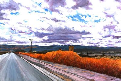 Tumbleweed Painting - Taft by Lissa Banks