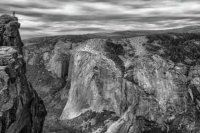 Taft Point And El Capitan Art Print