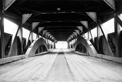 Taftsville Covered Bridge Art Print by Greg Fortier