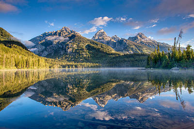 Photograph - Taggart Lake by Adam Mateo Fierro