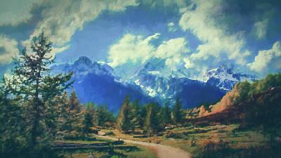 Painting - Taggert Lake by Alexandra Ortiz de Fargher