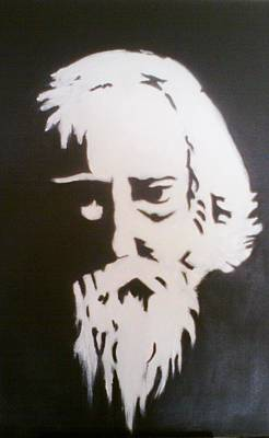 Tagore Painting - Tagore by Deboshree Chatterjee