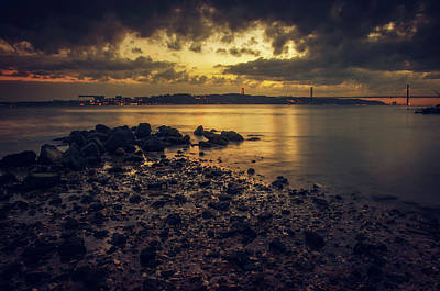 Photograph - Tagus Evening by Carlos Caetano
