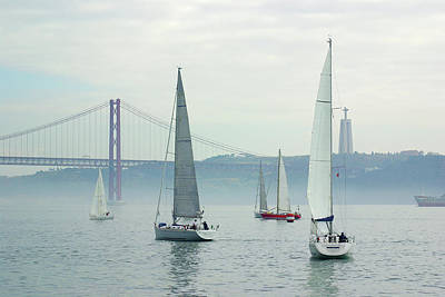 Photograph - Tagus Sailing by Carlos Caetano
