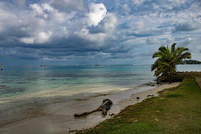 Photograph - Taha'a Shoreline by Martin Naugher