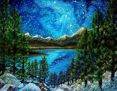 Painting - Tahoe A Long Time Ago by Matt Konar