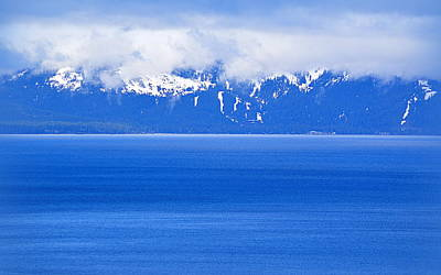 Photograph - Tahoe Blue by AJ Schibig