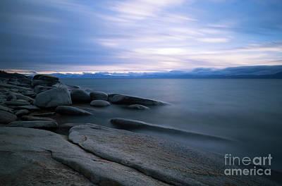 Photograph - Tahoe Blues by Idaho Scenic Images Linda Lantzy