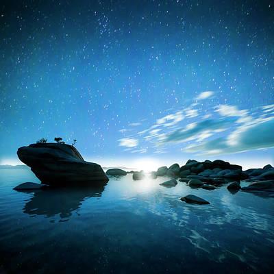 Bonsai Rock Photograph - Tahoe Dreams by Peter Irwindale