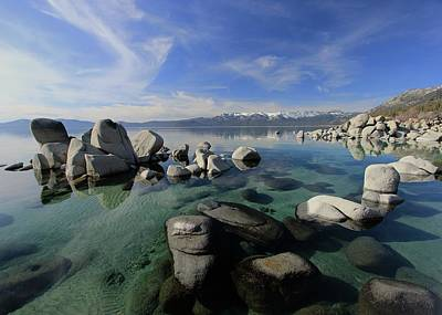 Photograph - Tahoe Essence by Sean Sarsfield