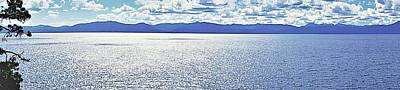 Photograph - Tahoe From The East Shore by Michael Courtney