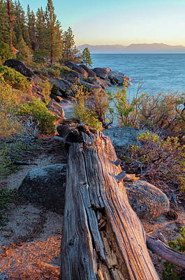 Photograph - Tahoe In Late Summer by Jonathan Nguyen