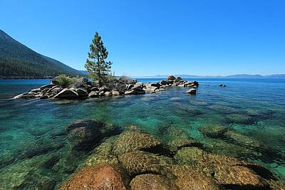 Photograph - Tahoe Northern Island  by Sean Sarsfield