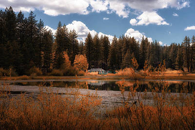 Photograph - Tahoe Ranch by Joseph Miguel