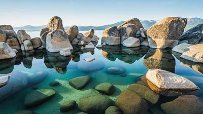 Photograph - Tahoe Reflections by Alpha Wanderlust