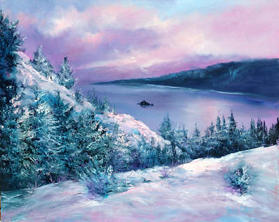 Tahoe Art Print by Sally Seago