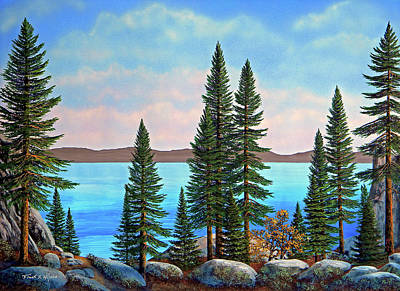 Painting - Tahoe Shore by Frank Wilson