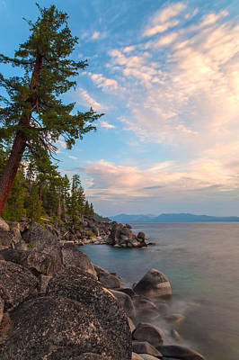 Photograph - Tahoe Shoreline by Jonathan Nguyen