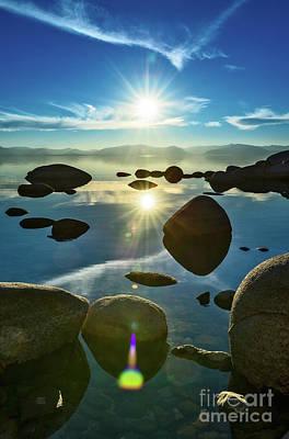 Dramatic Photograph - Tahoe Star by Jamie Pham